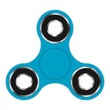Fidget hand spinner toy for increased focus, stress relief. Relaxation device. Stock Photography
