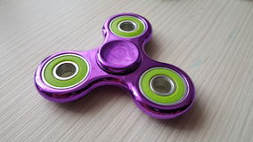 Fidget Spinner. Antistress, therapy. autism therapy. Fidget Spinner. antistress toys for autism people. new sales hit Stock Photography