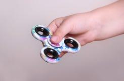 Fidget spinner Stock Photo