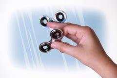 Fidget spinner stock images