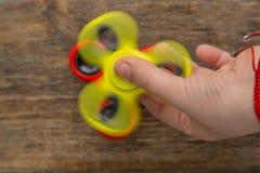 Finger spinner stock images