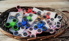 Fidget Spinners Stock Images