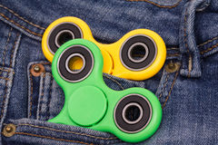 Fidjet spinners royalty free stock images