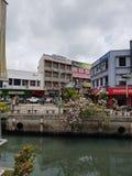 Fidschi-Straße stockfotos