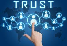 fiducia Immagini Stock