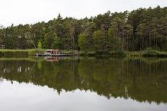 Fie& x27; jezioro fotografia stock