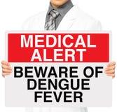 Fiebre de dengue Imagen de archivo libre de regalías