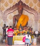 Fiel budista Fotografía de archivo libre de regalías