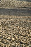 field вспахивать Стоковые Фото
