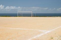 field земля футбола Стоковое фото RF