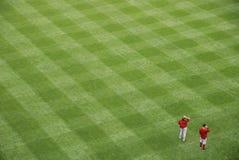 field налево Стоковая Фотография