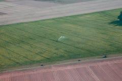 field полив Стоковые Фотографии RF