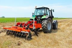 field трактор Стоковое Изображение RF