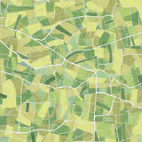 Field from above Royalty Free Stock Images