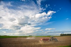 Field agriculture Royalty Free Stock Images