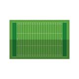 Field american football grass. Vector illustration eps 10 Stock Photo