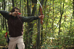 Field archery stock photography