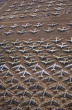 A Field of B-52 Aircraft, Davis Montham Air Force Base, Tucson, Arizona Stock Photos