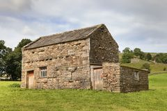 Field barn, Yorkshire Royalty Free Stock Photos