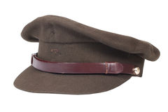 Field cap isolated on white Royalty Free Stock Photography