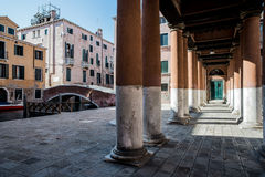 Field of church venice italy veneto europe Royalty Free Stock Image
