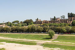 Field in Circus Maximus Royalty Free Stock Photography