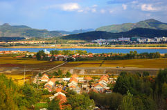 Field and country  landscapes. Of north china Stock Photography