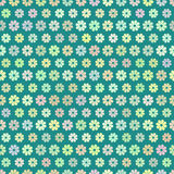 Field of daisies. seamless pattern. Seamless floral pattern. Flower texture.   illustration Royalty Free Stock Photos