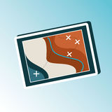 Field day icon design Stock Image