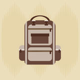 Field day icon design Royalty Free Stock Photo