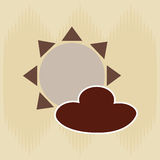 Field day icon design. Illustration eps10 graphic Royalty Free Stock Photography