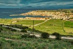 Field of Dreams ~ Favignana, Sicily royalty free stock photography
