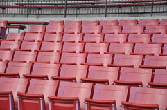 A field of empty seats Stock Image