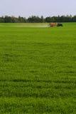 A field fertilized Royalty Free Stock Photos