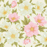 Field flover pattern 2. Flower seamless pattern. Floral vintage colorful background for you scrapbook and design Royalty Free Stock Photos