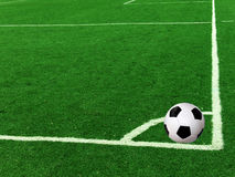 Field  football  ball Stock Image