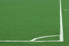 Field  football   lawn Stock Photo