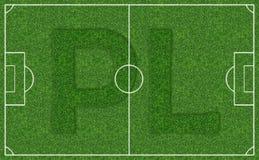 Field football stadium Royalty Free Stock Image