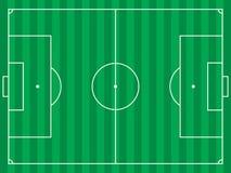 field fotboll Arkivfoto