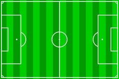 field fotboll Arkivbilder
