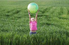 Field of fun Stock Photography