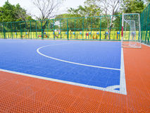 Field for futsal Stock Image