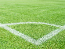 Field for game in football Stock Photos