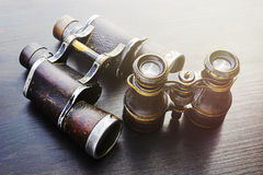 Field glasses Stock Image