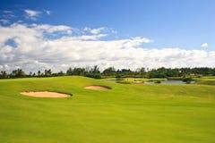 field golf Royaltyfri Fotografi