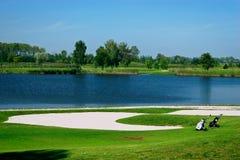 field golf Royaltyfria Foton