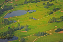 Field of golf Royalty Free Stock Photo