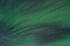 Field of Green Aurora Royalty Free Stock Photo