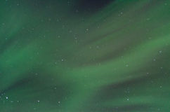 Field of Green Aurora Two Royalty Free Stock Image