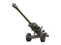 Field Gun Royalty Free Stock Images